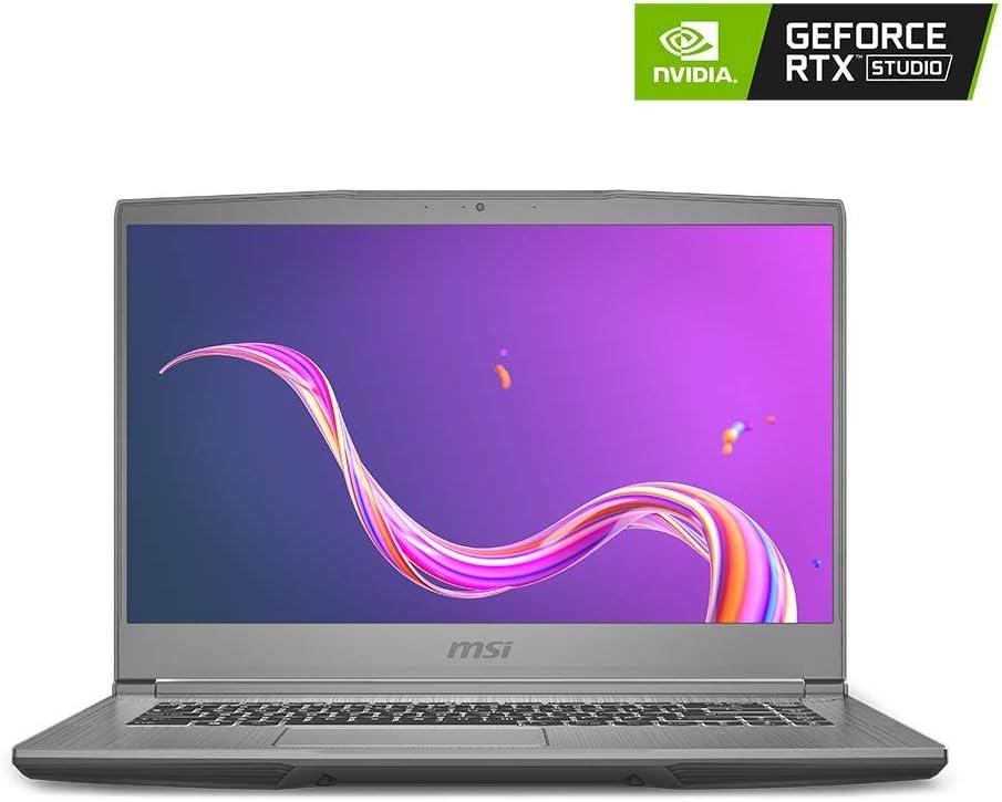 "MSI Creator 15M A9SE-043 15.6"" 120Hz FHD Creator Laptop Intel Core i7-9750H RTX2060 16GB 1TB NVMe SSD Win10"