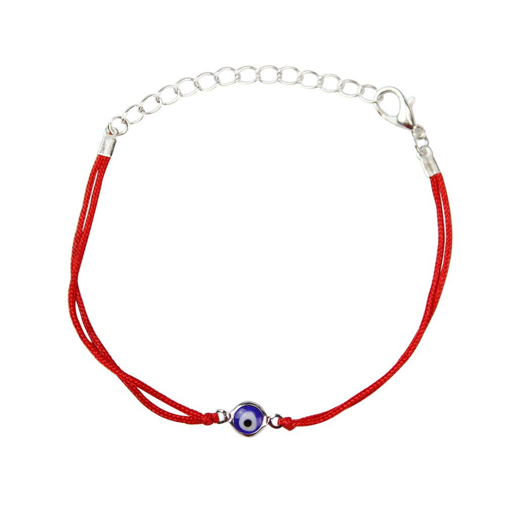 YingUs Fashion Men Women Evil Eye Red String Kabbalah Bracelet Jewelry