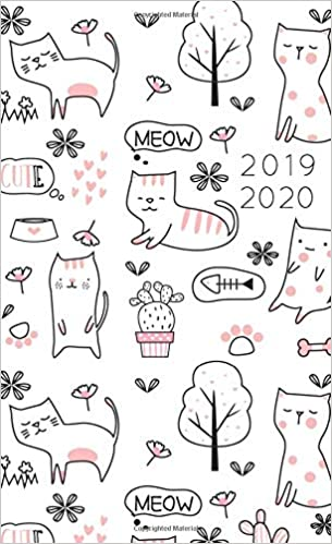 2019-2020: 2 Year Monthly Pocket Planner   Mini 4x6.5 ...