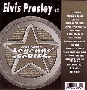 Volume 184 - Hits Of Elvis Presley #4 (CD+G) - Amazon.com Music