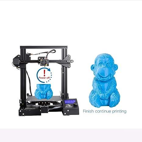 YA Ender-3 Kit de Bricolaje Impresora 3D Gran tamaño I3 Mini Ender ...