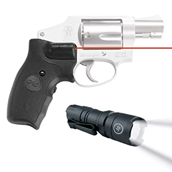 Crimson Trace LG-305 Lasergrips Red Laser Sight Grips for Smith & Wesson  J-Frame