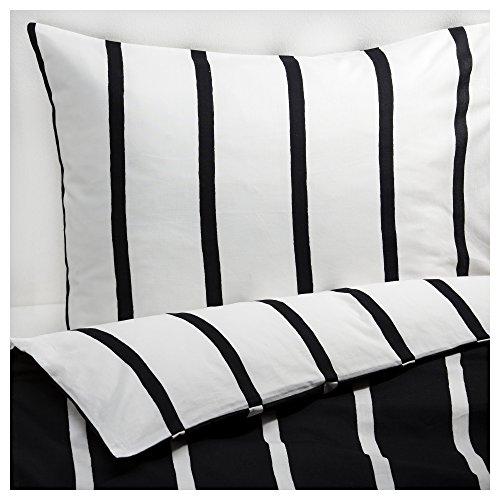 ikea black white modern queen