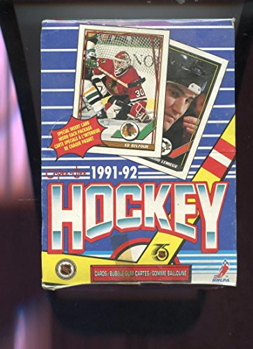 1991-92 O-Pee-Chee Hockey Card Set Wax Pack Box Wayne Gretzky 1992 OPC OPeeChee