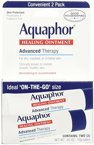 Aquaphor Healing Skin Ointment, Advanced Therapy, 2 Pack,...