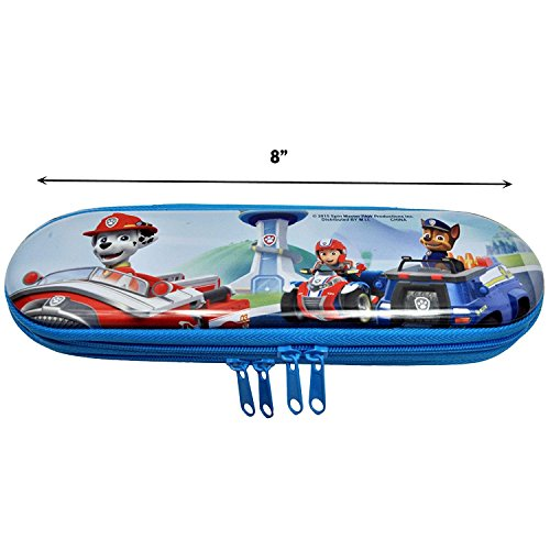 Paw Patrol Dogs Metal Zippered Pencil Case Holder Photo #6