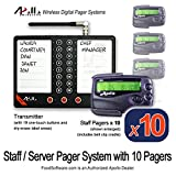 Apollo Staff or Server Paging System Kit with 10 Pagers