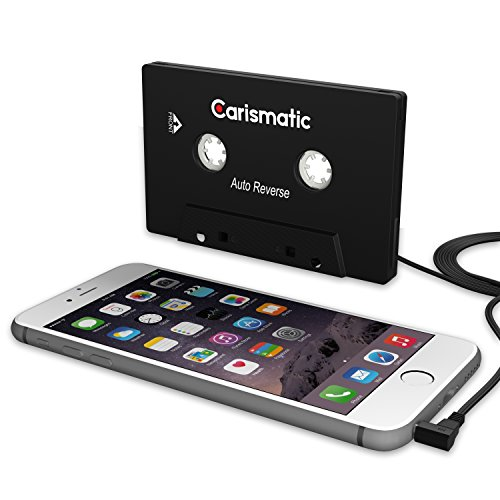 Carismatic 3.5mm Stereo Plug Universal Audio Cassette Adapter for iPhone/Android/Smartphones - Black by Carismatic (Image #2)