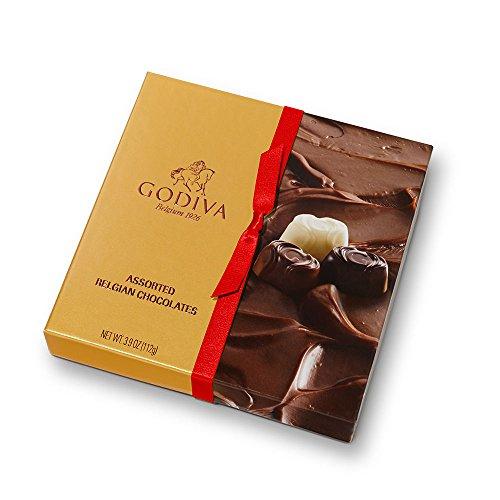 Godiva Chocolatier Trayed Bliss Assorted Chocolates Gift Box 3.9oz (Godiva Praline)