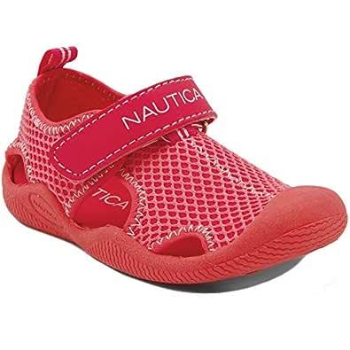 Nautica Unisex-Child Ka089aaf Pink Size: 7 Toddler