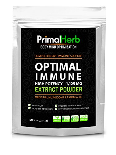 Оптимальное Иммунная: Astragalus и лекарственных грибов Pure