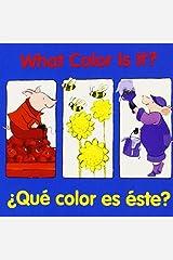 What Color Is It Qu Color Es Ste Hardcover