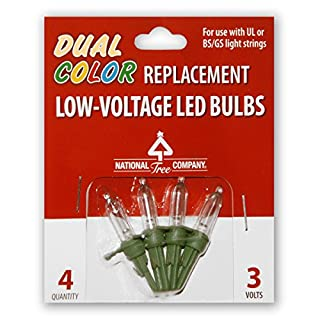 National Tree 4 Low Voltage Dual LED Replacement Bulbs (RB-4LVD)