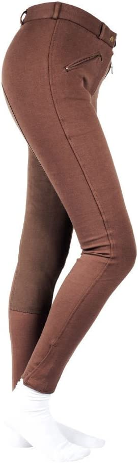 Horze Active Women's fullseat Breeches CHOCOLATE BROWN