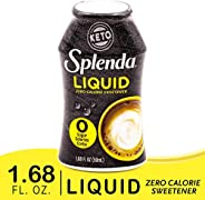 SPLENDA LIQUID Zero Calorie Sweetener drops, 1.68 Ounce Bottle (Pack of 1)
