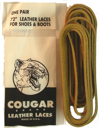 Leather Laces For Shoes & Boots Tan (Lace Leather Shoe)