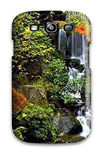 Anti-scratch And Shatterproof Waterfall Phone Case For Galaxy S3/ High Quality Tpu Case