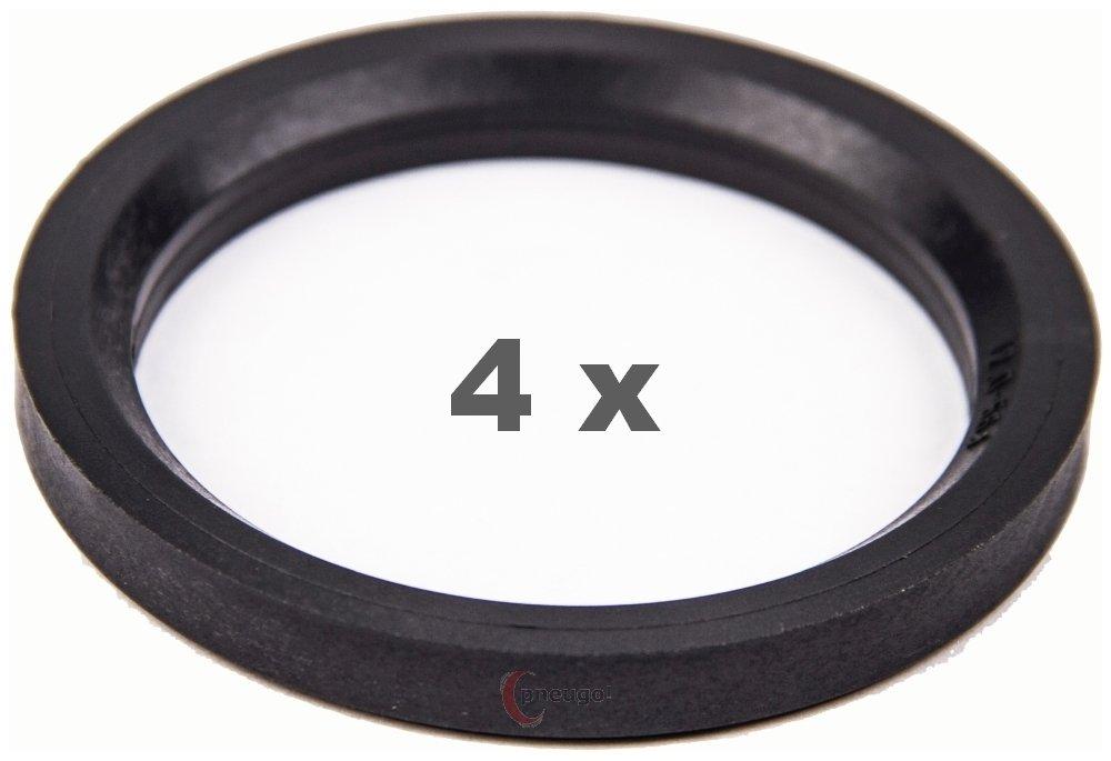 Bague de Centrage 4/x 72.0/sur 56.1/fonc/é//darkgrey