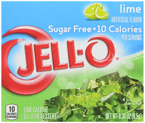 Jell Sugar Free Gelatin Dessert Lime product image