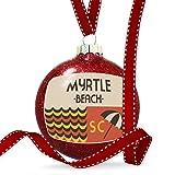 Christmas Decoration US Beaches Retro Myrtle Beach Ornament