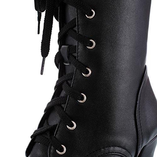 Classic AIYOUMEI Women's AIYOUMEI Boot Women's Black HRZwqg