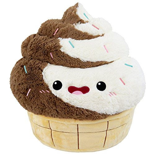 Squishable Comfort Food Swirl Soft Serve Plush - 15