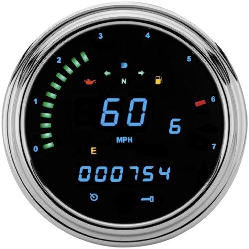 Series Speedometer Instrument (Dakota Digital 2000 Series Speedometer/Tachometer Tank Mount Instrument Replacement with Direct ECM Plug-In MCL-2002 )