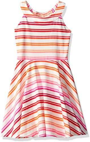 The Children's Place Toddler Girls' Her Li'l Striped Halter Dress