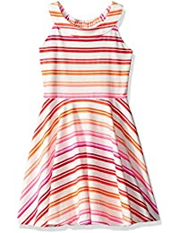 Toddler Girls' Her Li'l Striped Halter Dress