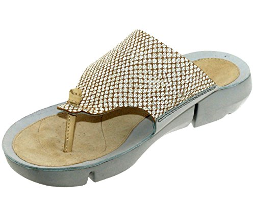 D CLARKS Tri Metallic 5 5 Womens Clarks Sandal Carmen 8Ow8vPq