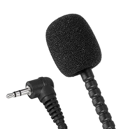 1f8c9828f631 Neewer® Mini 3.5mm Flexible Microphone Mic for PC Laptop Skype (2X ...