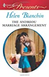 The Andreou Marriage Arrangement, Helen Bianchin, 0373129416