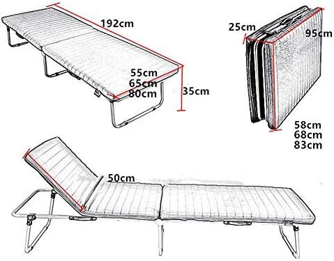 Cama plegable Estructura de cama plegable Huésped Con somier Ocio ...