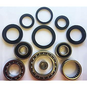 Rear Wheel Bearing /& Seal Kit Yamaha Bruin 350 2x4 /& 4x4 YFM350 2004 2005 2006
