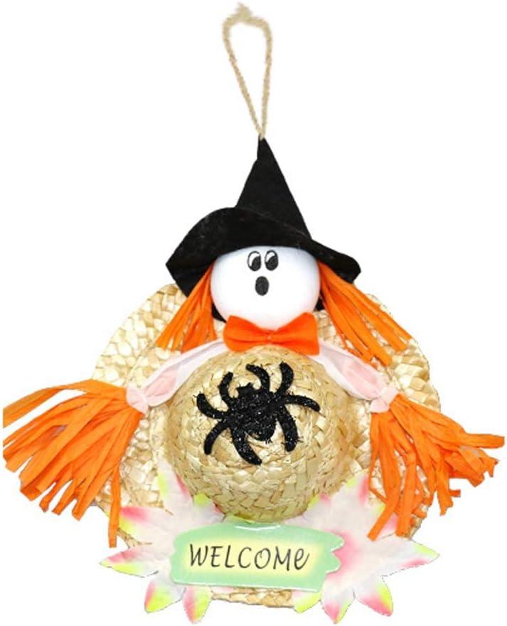 WYXWSJ Bolsa Fantasma. Decoraciones de Halloween Centro Comercial Bruja Fantasma Calabaza Colgante Encanto Halloween Decoración Linda (Color : A)
