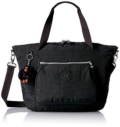 Kipling Chambers Medium Satchel Bag, Black by Kipling