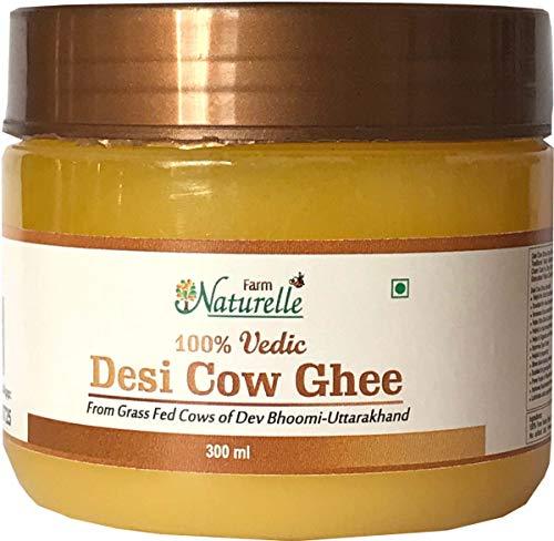Farm Naturelle Desi Cow Ghee - 100 % Pure Ghee From A2 Milk - 300 ML (10.14oz) -  4202815494760
