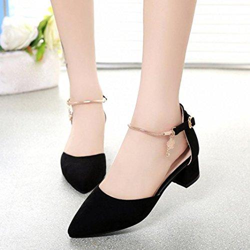 d'été forme sandales Noir Fashion ® chaussures mariage femmes talons Transer plate wBgUzaxwq