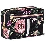 8d25c7bdb98 Sonia Kashuk153; Cosmetic Bag Overnighter Dark Floral with Webbing Black