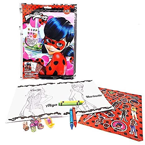 Miraculous Play Pack Para Colorear