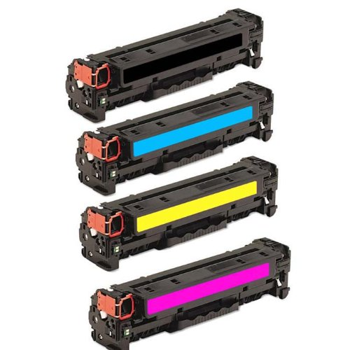 HI-VISION HI-YIELDS ® Compatible Toner Cartridge Replacement for Canon 131 (1 Black, 1 Cyan, 1 Yellow, 1 Magenta, 4-Pack)