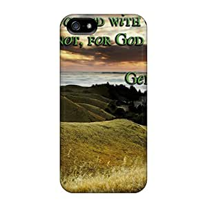 Series Skin Case Cover For Iphone 5/5s(enoch Walked With God)