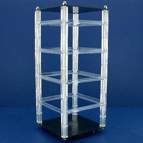 2-Revolving-Earring-Display-Racks-100-Hanging-Cards-New