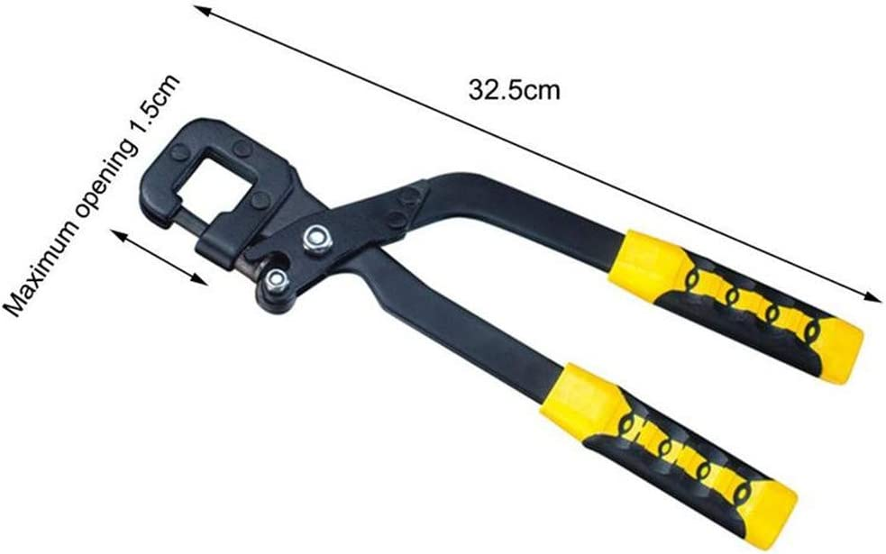 1Pcs Metal Keel Clamp Ceiling Keel Riveting Clamp Keel Plier Industrial Decorative Stud Crimper Clamp B A