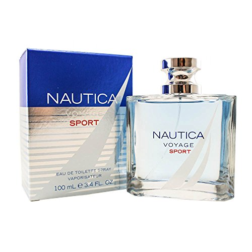 - Nautica Nautica Voyage Sport Eau De Toilette Spray 3.4 Oz/ 100 Ml for Men By Nautica, 23 Fl Oz