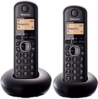 Panasonic KX-TGC212EB Twin Digital Cordless Telephone Certified Refurbished