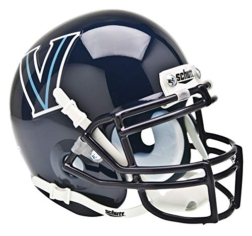 Schutt NCAA Mini Authentic XP Football Helmet, Villanova Wildcats