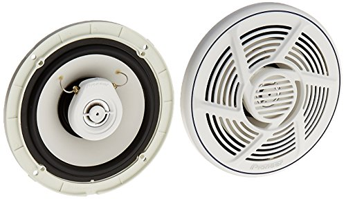 Pioneer TS-MR1640 6.5-Inch 2-Way Marine Speakers (Video 2 Performance Way Series)