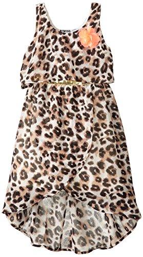 Pogo Club Little Girls' Jasmine Leopard Print Dress