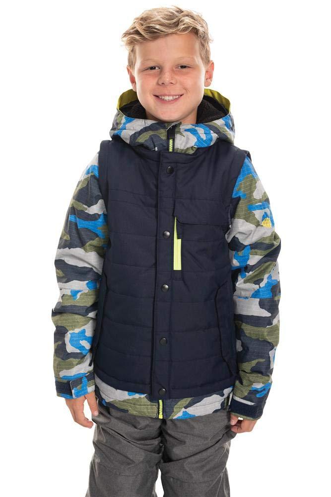 686 Boys Scout Insulated Jacket Waterproof Ski//Snowboard Winter Coat
